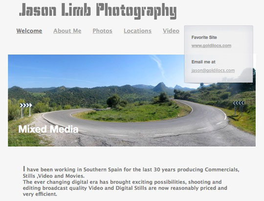 Jason Limb, location manager and photographer.